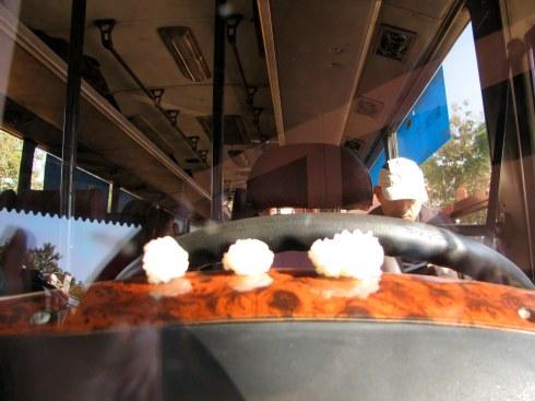 Bus from Houay Xai to Luang Nam Tha, Laos