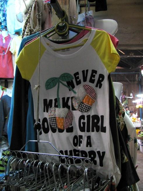 T-shirt, Old Market (Psar Chars), Siem Reap, Cambodia