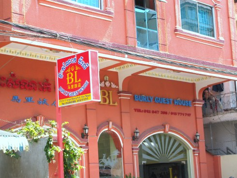 Burly Guest House, Phnom Penh, Cambodia