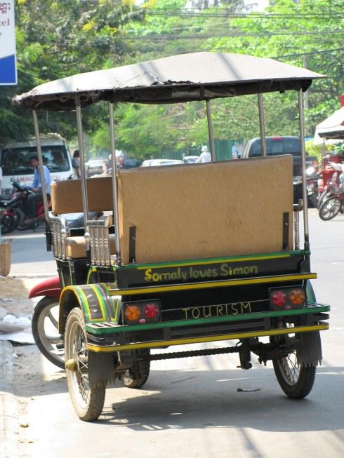 Tuk-tuk, Phnom Penh, Cambodia
