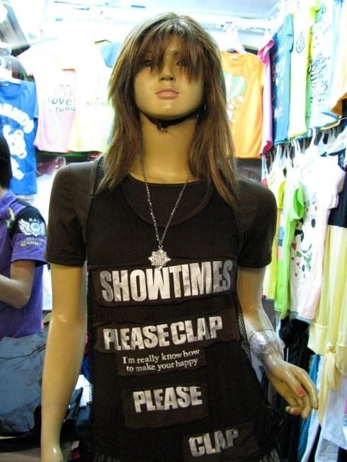 T-shirt, O'Russey Market, Phnom Penh, Cambodia