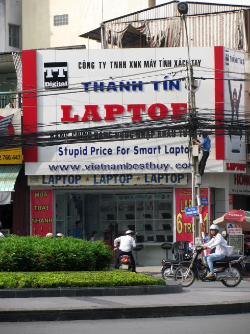 Thanh Tin Laptop store, Saigon, Vietnam
