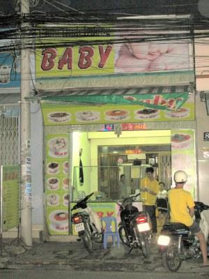 Baby restaurant, Saigon, Vietnam
