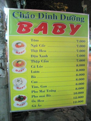 Fat baby soup, anyone?