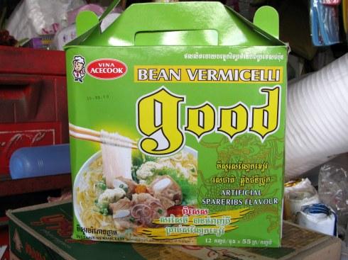 Good bean vermicelli, Old Market, Phnom Penh, Cambodia