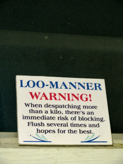 Loo sign, Kuala Lumpur, Malaysia