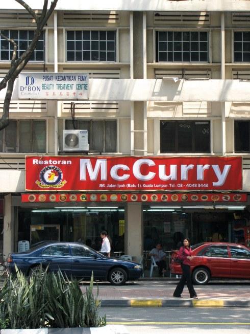 McCurry Restoran, Kuala Lumpur, Malaysia