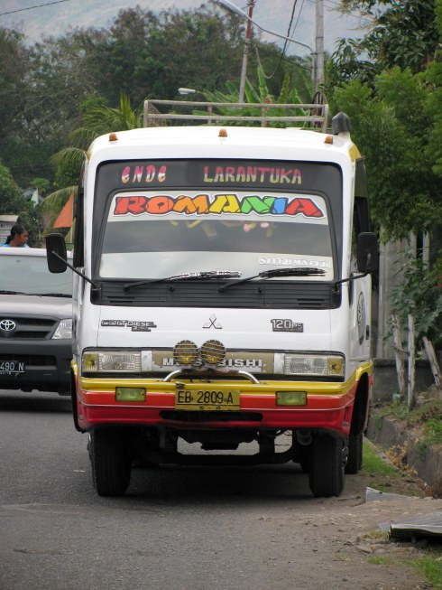 Truck, Ende, Flores, Indonesia