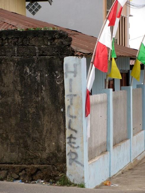 Graffiti, Ruteng, Flores, Indonesia