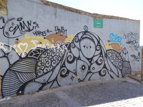 Sometimes the taggers don't respect the artists' work, sadly.