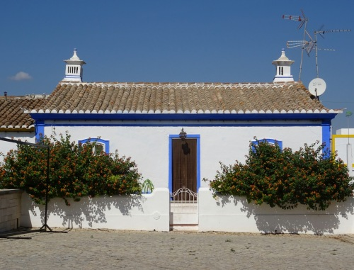 One of the lovely little houses of the tiny village of Cacela Velho.