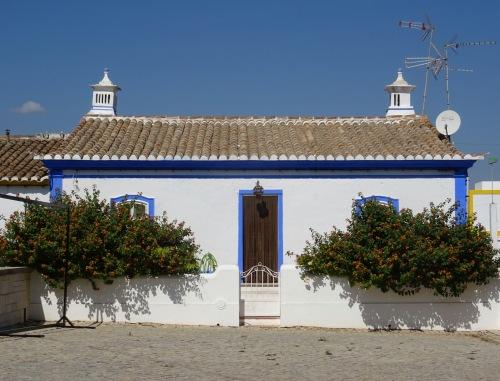 One of the lovely little houses of the tiny village of Cacela Velho.