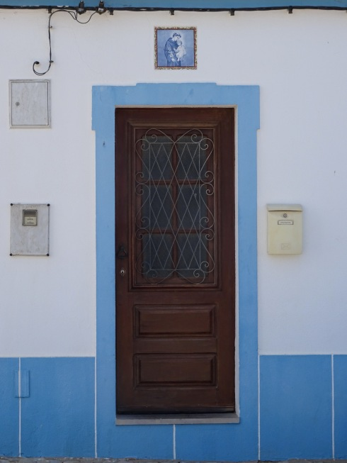 I guess I'm calling this afternoon of the blue doorways.